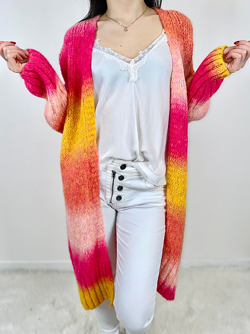 Gilet Tie & Dye