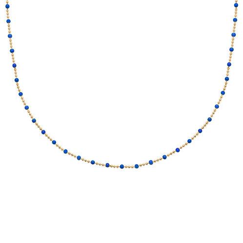 Collier Boho Bleu