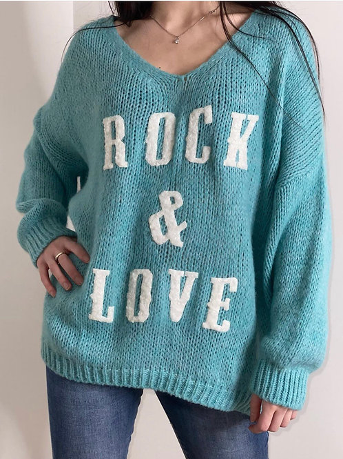 Pull Rock & Love Turquoise