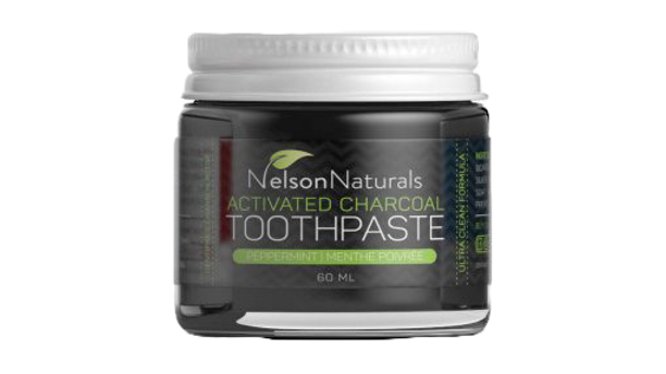 Nelson Naturals 30ml Charcoal Toothpaste