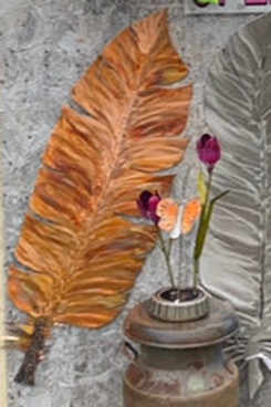 Giant Copper Feather