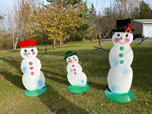 frosty family all double sided