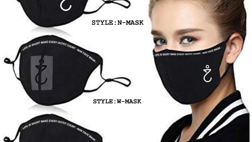 N2W- 3 Layers BOLD - Fashion-Facemask- 2020 Made in Peru