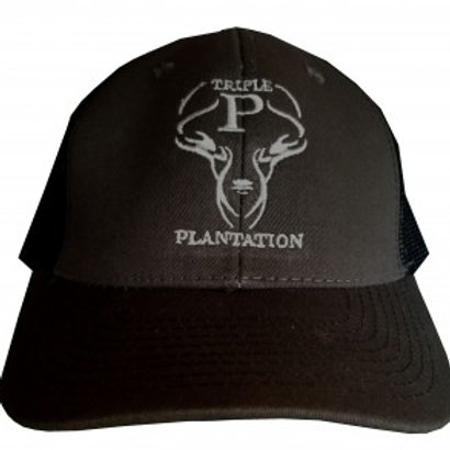 Black & Gray Logo Hat