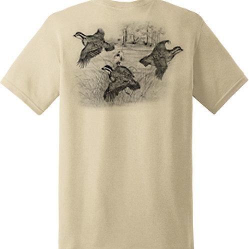 Quail T-Shirt - XLarge