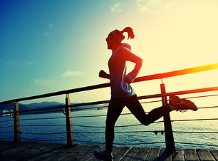 healthy lifestyle sports woman running o