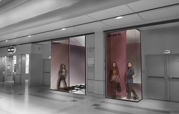 Aude Besson - Architecte d'intérieur- 49 - Modélisation de la vitrine