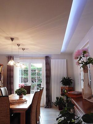 Aude Besson - Architecte d'intérieur- 49 - photo salle à manger et gorges lumineuse
