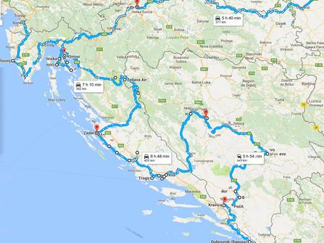 Los Balcanes. Rutas y mapas