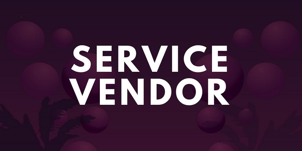 Summer Palooza Service Vendor