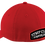 Thumbnail: Strip Club Choppers Curved Bill Red Fitted Hat Ball Cap