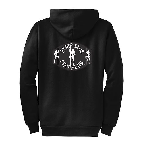 SCC Classic Logo Hoodie ZIP UP Style