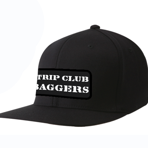 Strip Club Baggers Flat Straight Bill Hat Ball Cap