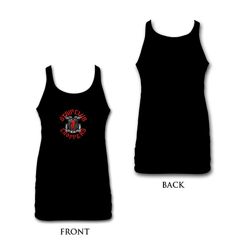 Women's Black/Red SCC Tank