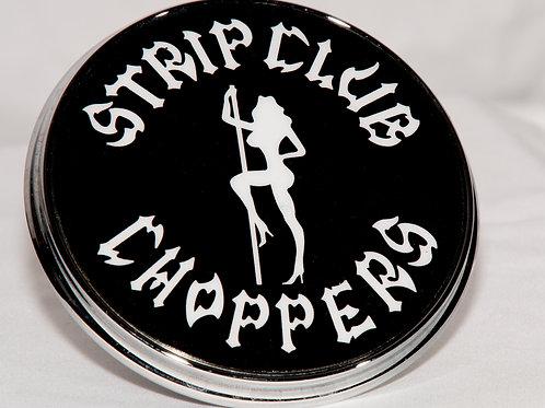 SCC Strip Club Choppers Billet Derby Cover