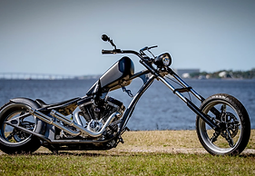 SCC ORIGINAL CUSTOM CHOPPER - $45,000 - FREE DELIVERY in U.S.A