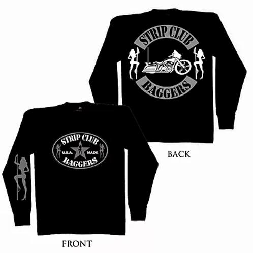 Men's SCC Long Sleeve T-Shirt Bagger Theme