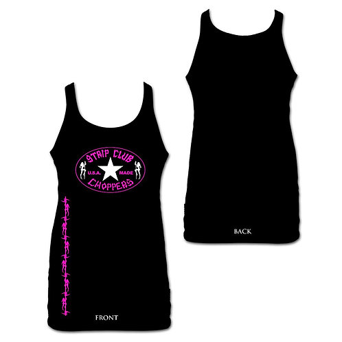 Women's SCC Pink Barbed Wire Tank