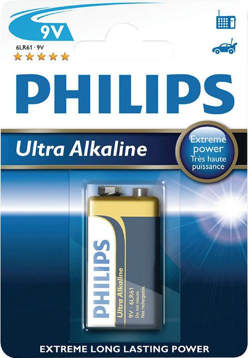 PILA PHILIPS ULTRA 6LR61 9V