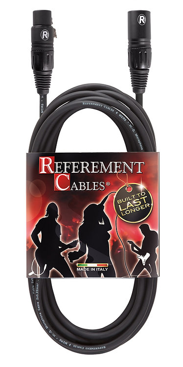 REFEREMENT® MCR5 - Cavo Microfonico Bilanciato -  XLR M / XLR F PROLITE - 5m
