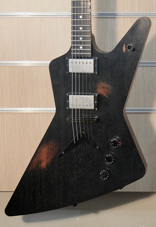 DEAN USA Z Mahagony Worn Black