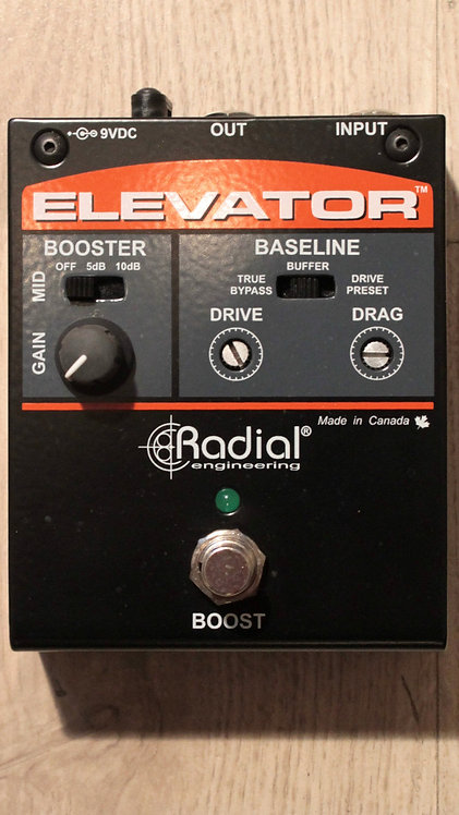 RADIAL Elevator boost
