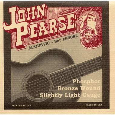 JOHN PEARSE ACOUSTIC SET 550SL Slightly Light 11-50