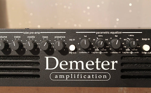 DEMETER Bass 600 testata basso