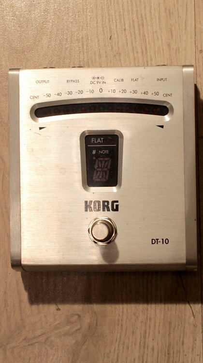KORG DT-10 Tuner a pedale