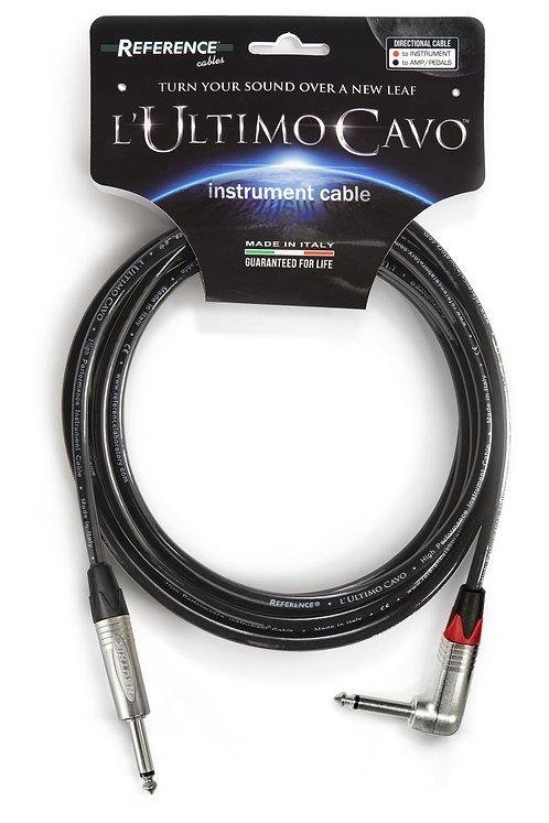 REFERENCE® L'ULTIMO CAVO Series  Cavo per Strumenti Jack Dritto/90° NEUTRIK 4,5m