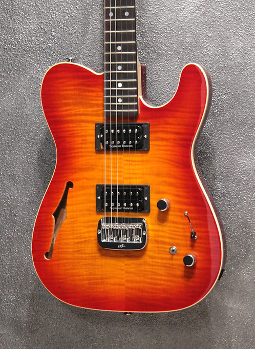 G&L Asat Deluxe Semihollow made in USA