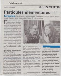 Article Paris Normand 27.01.2015