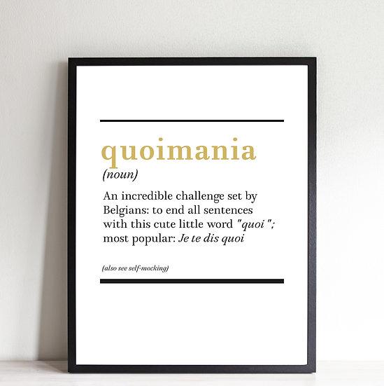 Quoimania