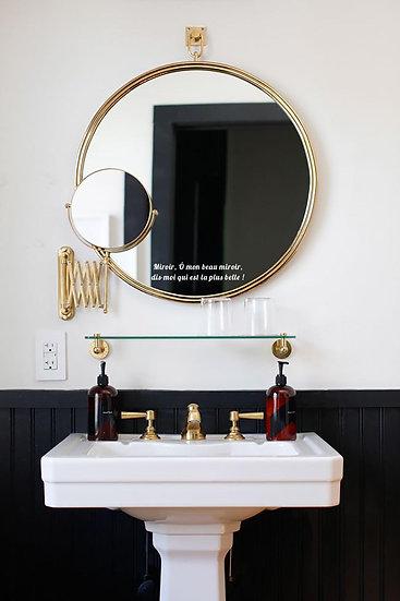 Ô mon beau miroir