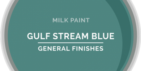 Gulf Steam Blue General Finishes Pint