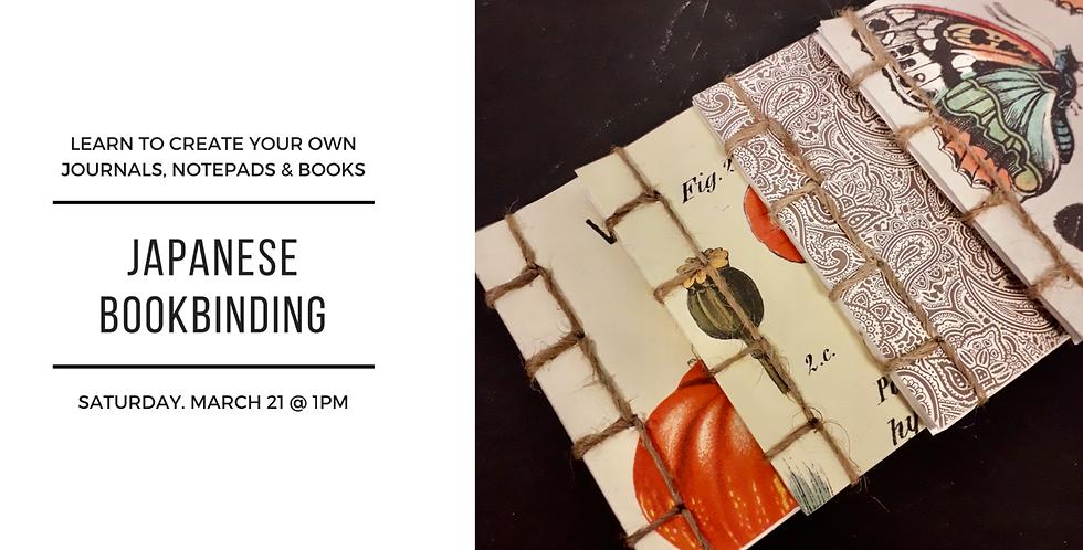 Japanese Bookbinding (Postponed)