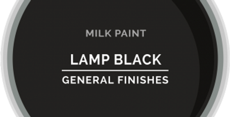 Lamp Black General Finishes Pint