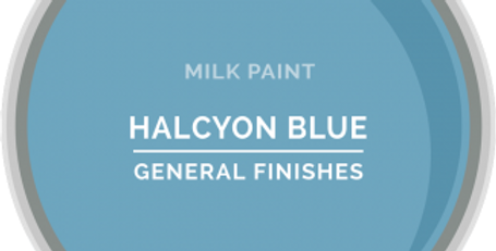 Halcyon Blue General Finishes Quart