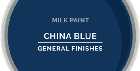 China Blue General Finishes Pint