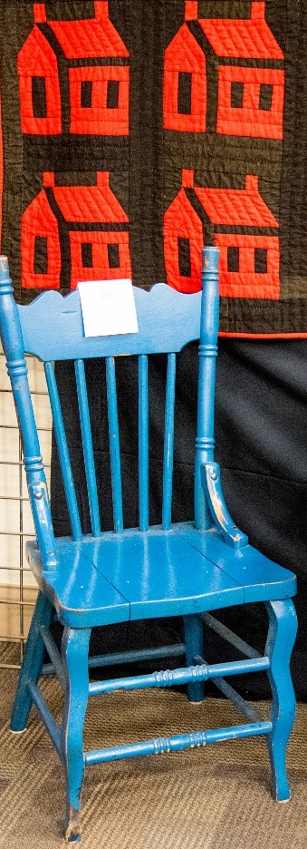Side Chair & School House Quilt