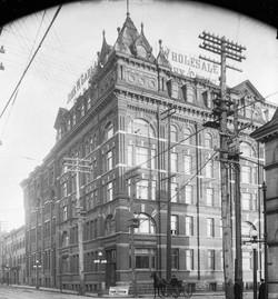 MOSES EDEY - GARLAND BUILDING 1898