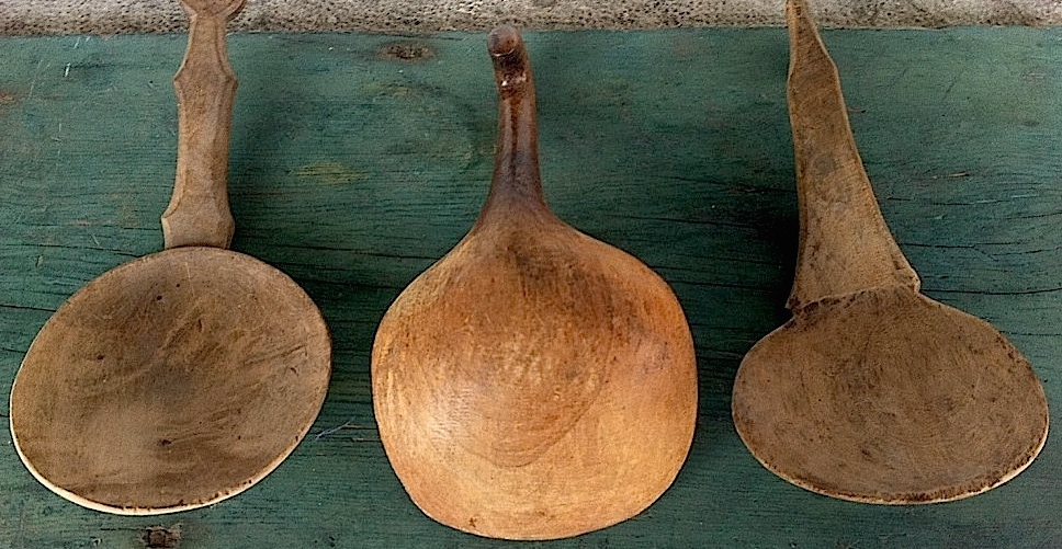 BURL BUTTER PADDLES