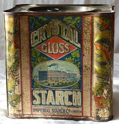 IMPERIAL STARCH TIN