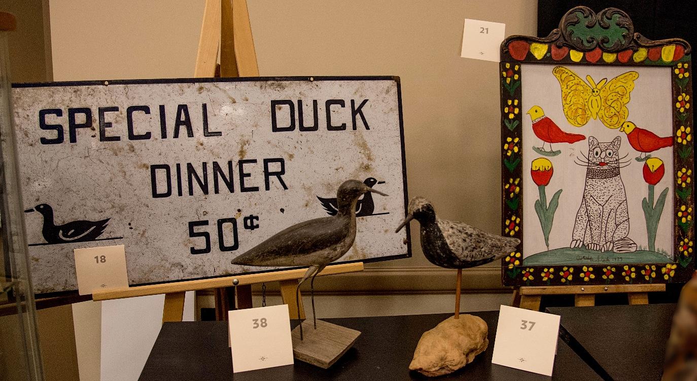 Trade Sign & Shorebirds