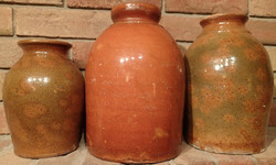 RED WARE JUGS