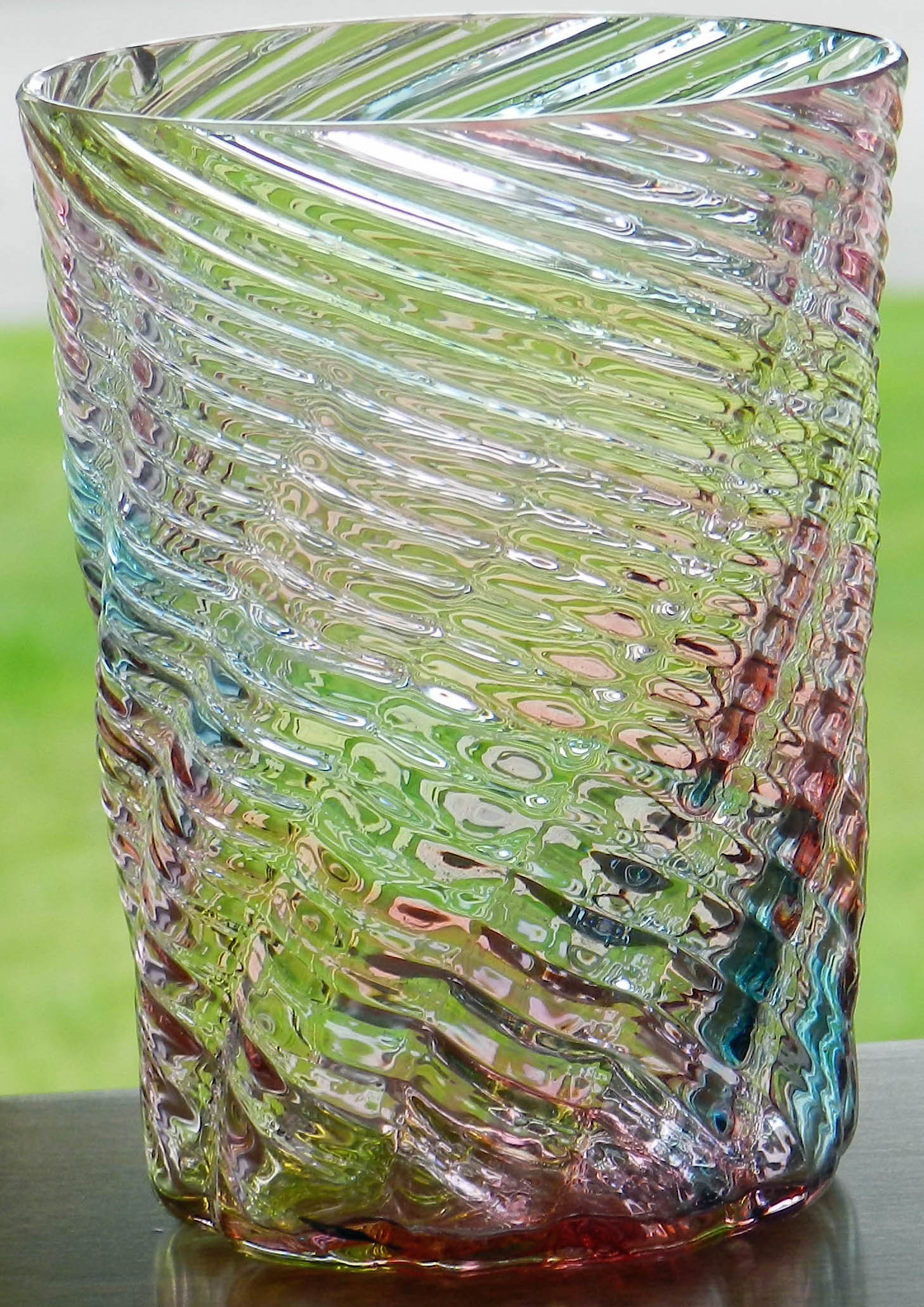 VICTORIAN GLASS TUMBLER