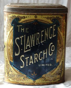 ST. LAWRENCE STARCH COMPANY TIN