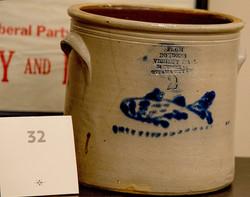 Ottawa Merchant Fish Crock