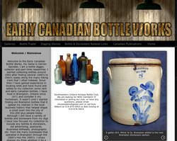 EARLY CANADIAN BOTTLE WORKS