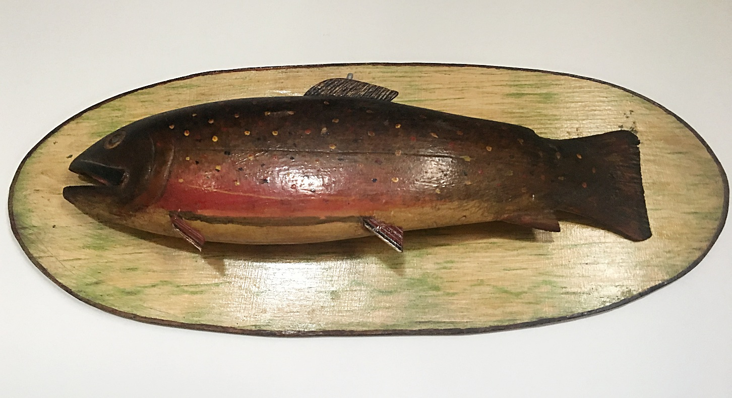 FOLK ART TROUT